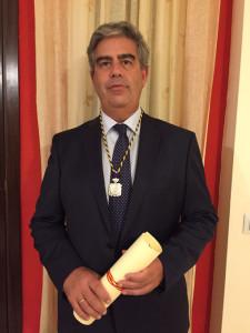Rafael Balongo ya es miembro de la Real Academia de Medicina de Sevilla.