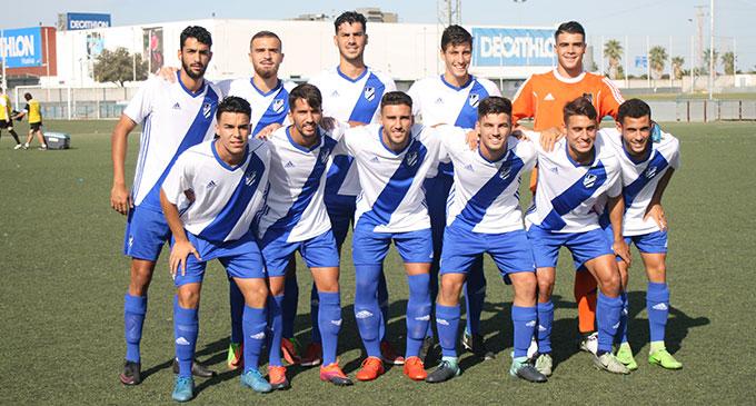 Empate del Atlético Onubense en su partido ante el San Fermín.