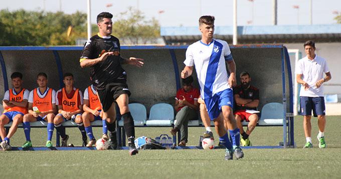 El Atlético Onubense tiene cita intersemanal este miércoles en Los Barrios.