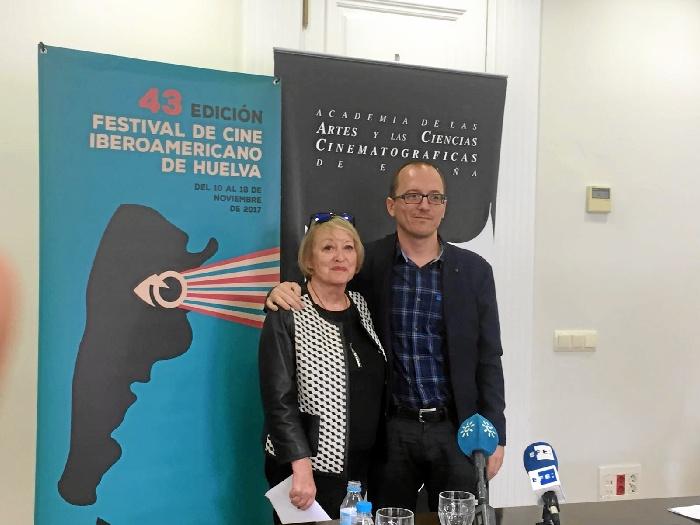 Un momento de la celebración presentada en la Academia de las Artes y las Ciencias Cinematográficas de España.