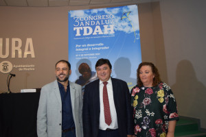 Presentación del Congreso Andaluz de TDAH que se celebrará en Huelva.