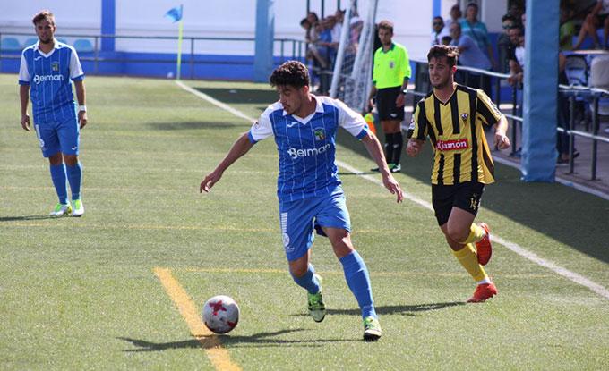 El San Roque, sin nada en juego en su partido ante el Xerez Deportivo.