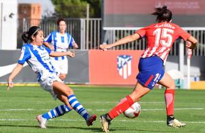 El Sporting puso en apuros en muchos momentos al Atlético de Madrid. / Foto: www.lfp.es.