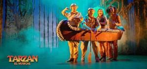 'Tarzán, El Musical' será representado este sábado 7 en el Teatro Muncipal de Trigueros.