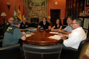 Un momento del encuentro celebrado en La Palma del Condado.