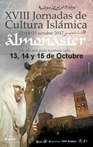 Cartel de las XVIII Jornadas de Cultura Islámica.