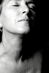 Quiso hacerse fotos desnuda para ver la evolución de su cuerpo, antes y después de la operación.