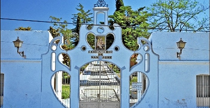 Los 22 cementerios onubenses que forman parte del Patrimonio Inmueble de Andalucía