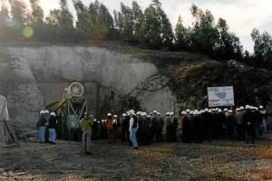 Inauguracion oficial de la rampa el 14 de noviembre de 1997.