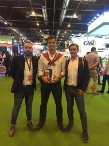 Gonzalo, Jesús y Luis son los emprendedores que han puesto en marcha VetFit.
