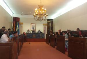 Pleno de octubre de la Diputación de Huelva.