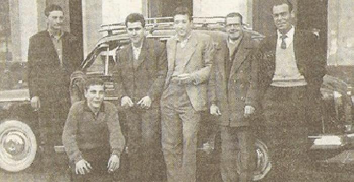 Historia onubense de los taxis (II)