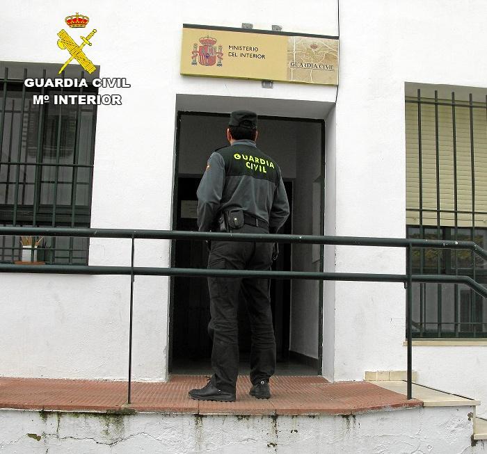 La Guardia Civil ha relacionado a cinco personas con los robos.
