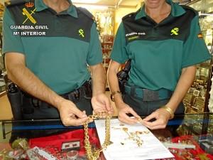 Algunos de los objetos recuperados han sido devuelto a sus legítimos propietarios.