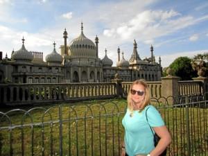 En Brighton, ciudad a la que prevé mudarse en diciembre.