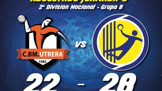 El Pedro Alonso Niño encadena con solvencia su segunda victoria consecutiva tras ganar en Utrera (22-28)