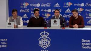 Un momento de la presentación de la Asociación de Futbolistas Solidarios  y el I Torneo de Golf 'Jugadores del Decano'. / Foto: Condavisión.