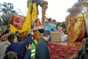 Cabalgata de Reyes del año pasado.