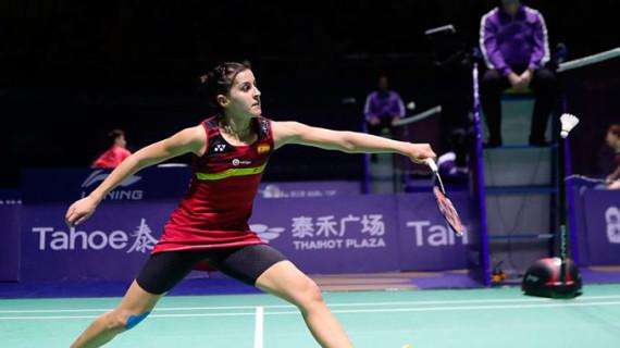Carolina Marín supera con solvencia a la danesa Line Kjaersfeldt y accede a los cuartos de final del Indonesia Másters