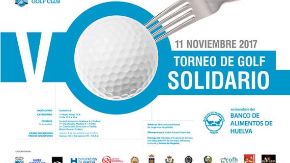 El Club Bellavista acoge este sábado el V Torneo de Golf Banco de Alimentos de Huelva