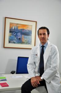 El doctor Guillermo Pedrajas.