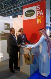 La empresa de Huelva (Hudisa Desarrollo Industrial) participa  en Foodex 2017.