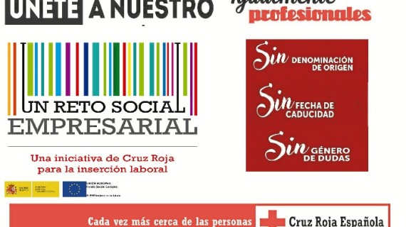 Cruz Roja impulsa una campaña para romper los prejuicios en el acceso al mercado de trabajo onubense