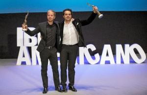 Alfonso Sánchez y Alberto Lópe, Premios Luz del Festival de Cine Iberoamericano.