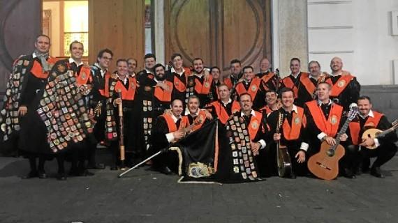La Tuna de Empresariales de Huelva, primer premio en el Certamen Nacional de Tunas de Económicas y Empresariales en Tenerife