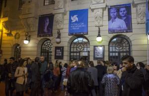 El acto tuvo lugar en el Gran Teatro.