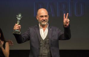Grandinetti sostiene su Premio Ciudad de Huelva.