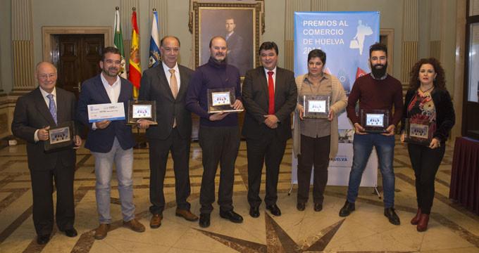 Seis negocios de Huelva reciben los I Premios al Comercio