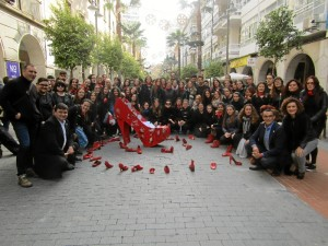 Alumnado del IES La Orden y de la Escuela de Arte León Ortega, han realizado actividades de concienciación ciudadana.