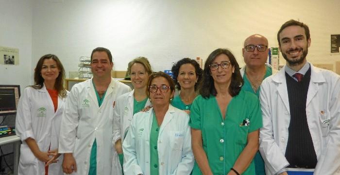 El Hospital Juan Ramón Jiménez aplica una nueva técnica para la hipertensión pulmonar
