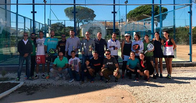Gran nivel de participación en el Campeonato Provincial Absoluto de Pádel.