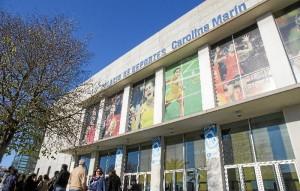 Palacio de los Deportes.