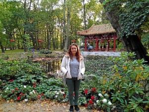 Esther estudia cuarto curso de Relaciones Internacionales en Varsovia con una beca Erasmus.