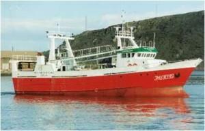 La pesca y comercialización de la gamba es la principal actividad de esta empresa onubense.
