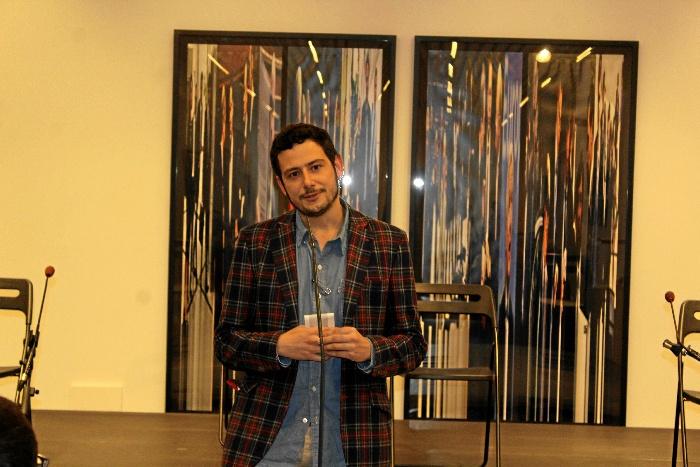 Javier Hernando recibe el VIII Premio de Textos Teatrales Jesús Domínguez.