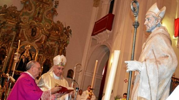 El Obispo presidirá el lunes en la Catedral la celebración de San Leandro, patrón de la Diócesis
