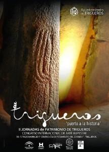Cartel de las II Jornadas de Patrimonio de Trigueros.