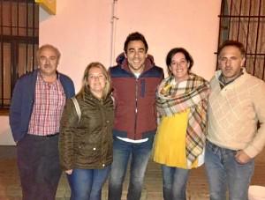Imagen difundida por el Ayuntamiento de Almonaster la Real.
