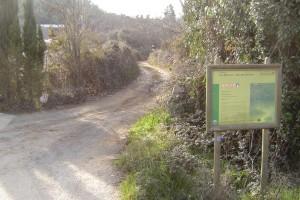 El Alto del Chorrito está en Los Marines y es de dificultad baja. / Foto: Junta de Andalucía.