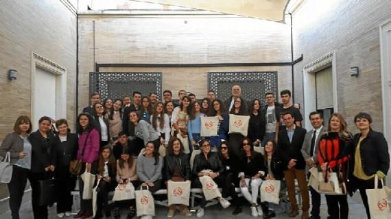 El IES Alonso Sánchez de Huelva acoge a una veintena de profesores y alumnos europeos del programa Erasmus +