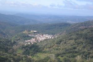 Maravillosas vistas desde El Cerro de San Cristóbal. / Foto: Junta de Andalucía.