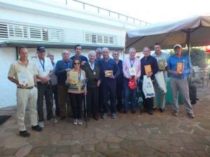 Ganadores del Torneo y organizadores.
