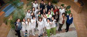 Los trabajadores de AFA Huelva nos transmiten su alegría.