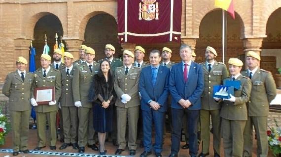 La Rábida acoge el acto del XXXIX aniversario de la Constitución Española