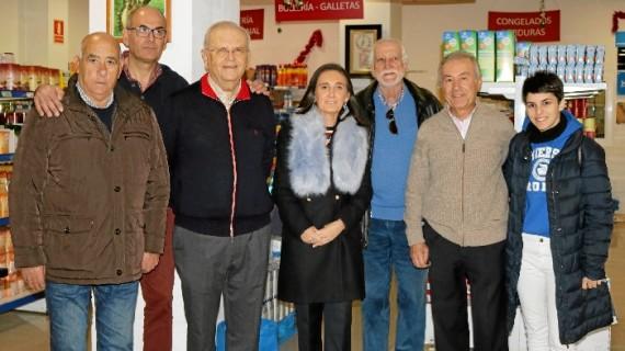 Grávalos ensalza la labor solidaria del Economato Resurgir, que esta Navidad prevé atender a más de 2.000 familias de Huelva