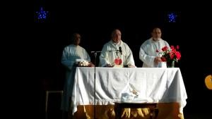 Imagen de la misa.
